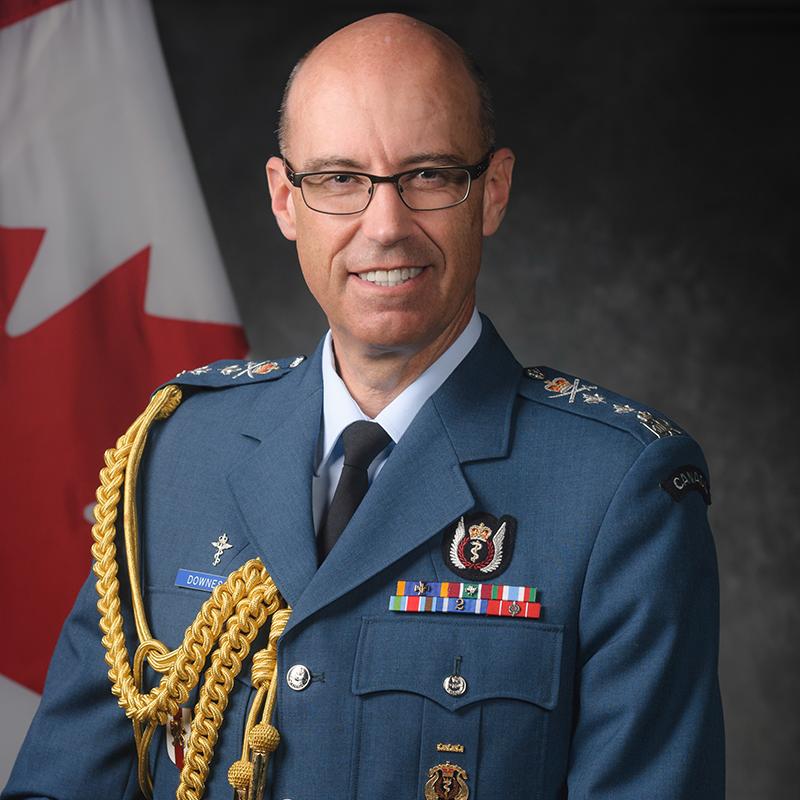 Major-General A.M.T. Downes, OMM, CD, QHP, MD